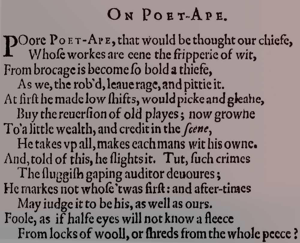 Poet Ape—Waugh Declared   The man who wasn't Hamlet