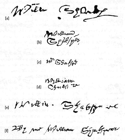 Photocopied signatures