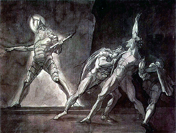 Fuseli - Hamlet and Horatio